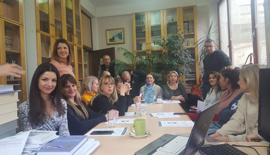 Oдржана информативна дискусија о Erazmus + програму у Институту за српску културу, 14. јануар 2020. године